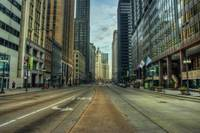 Early on Michigan Avenue