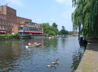River Avon and The Royal Shakespeare Theatre