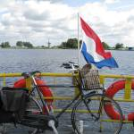"""Bike ferry in Holland"" by edmondholland"