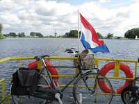 Bike ferry in Holland