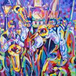 """Jackson Square Jazz"" by neworleansartist"