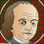 """Ben-Franklin-Color-Portrait"" by binary-options"