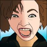 """Screaming Woman Trader"" by binary-options"