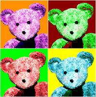 Big Ted Pop Art