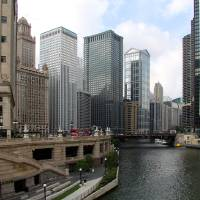 Chicago Riverfront by Roger Dullinger