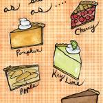 """As Sweet As Pie"" by CharlaPettingill"