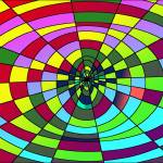 """Doppler Ovals in Psychedelic Color"" by binary-options"
