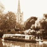 """Holy Trinity church Stratford Upon Avon"" by Jennie-Cowell"