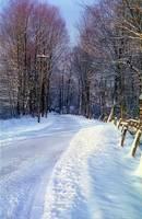 Winter Road, New England