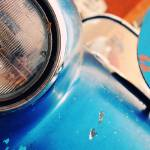 """Blue Rusted Headlight"" by rmcbuckeye"