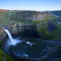 """Palouse Falls Dusk"" by Dawsonimages"