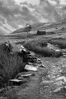 Black and white Cwmorthin