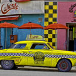 """Old Taxi on 7th Avenue"" by joegemignani"