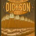 """Dickson Street"" by NaturalStatePrints"