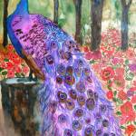 """""""Peacock Garden"""" by schulmanart"""