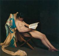 The Reading Girl by Theodore Roussel