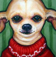 Boss Dog - Chihuahua Funny Dog Sweater