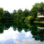 """Stilt House on Lake"" by spike"