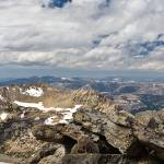 """View from the Summit of North Peak"" by Eileen"
