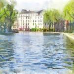 """Canal Saint-Martin"" by piker77"