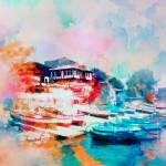 """Nesebar Coast"" by rosalin"