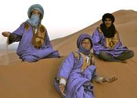 Berber guides of Erg Chebbi