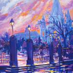 """After the Rain, Jackson Square"" by neworleansartist"