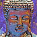 """Painted Buddha 2"" by SherylKaras"