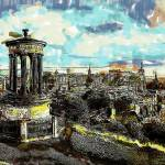 """Calton Hill Edinburgh"" by rdwittle"
