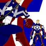 """Steve Rogers, Super Soldier"" by Euvari"