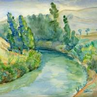 """Jordan river 1946"" by lacikam"