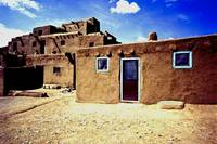 Indian Pueblo in Taos, New Mexico