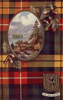 Buchanan (Raphael Tuck Scottish Tartan Postcard)