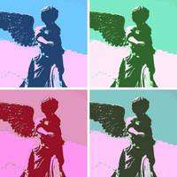 Angels Touch Pop Art