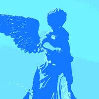 Blue Guardian Angel