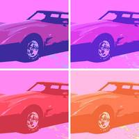 1979 Pop Art Corvette