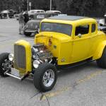 """Yellow Coupe Hot Rod Ultra"" by NorthPointImages"