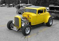 Yellow Coupe Hot Rod Ultra