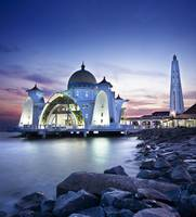 Malaysia : Floating Mosque @ Malacca