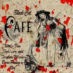 """Black Cat cafe 2011JFC"" by jeweledfrogcreations"
