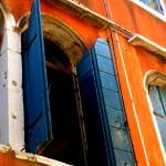 """Blue Shutters of Venice"" by gilestimms"
