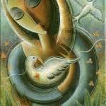 """""""Bird in the Hand"""" by NancyHannans"""