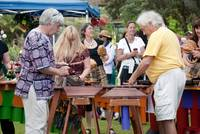 Marimba Band playing