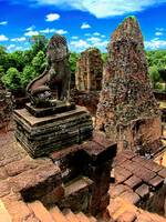 Silent Sentinal Pre Rup Temple