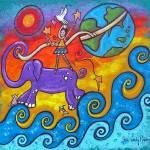 """Shaping Her World"" by juliryan"