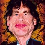 """""""Mick Jagger"""" by noedieartwork"""
