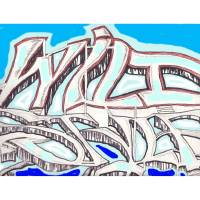 WILDSTYLE JOHN HAWKDOE Art Prints & Posters by johnhawkdoe