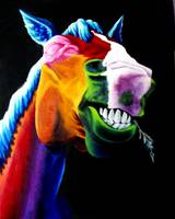 Funny Colored Horsey