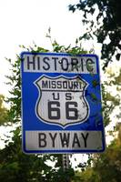 Route 66 Shield in Missouri