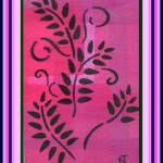 """Stenciled Ferns"" by missnancysart4u"